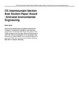 ITE Intermountain Section Best Student Paper Award | Civil and Environmental Engineering