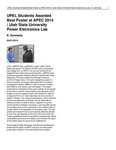 UPEL Students Awarded Best Poster at APEC 2014 | Utah State University Power Electronics Lab