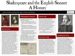 Shakespeare and the English Sonnet: A History