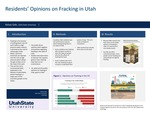 Residents' Opinions on Fracking in Utah