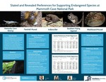 Stated and Revealed Preferences for Supporting Endangered Species at Mammoth Cave National Park by Erin Crump and Whitney Yardley