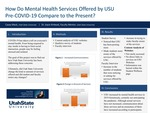 How Do the Mental Health Services Offered by USU Pre-COVID19 Compare to the Present?