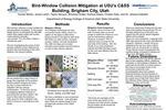 Bird-Window Collision MItigation at USU's C&SS Building, Brigham City, Utah