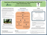 The Importance of Experiment Replication in Understanding Distribution of 'Alalā Seed Retention Time