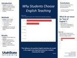 Motivations to Choose English Teaching at Utah State University
