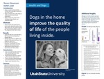 Dogs in the Home Improve the Quality of Life of the People Living Inside