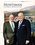 Huntsman Alumni Magazine, Spring 2010 by USU Jon M. Huntsman School of Business