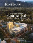 Huntsman Alumni Magazine, Spring 2013 by USU Jon M. Huntsman School of Business