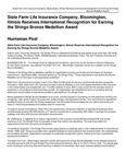 State Farm Life Insurance Company, Bloomington, Illinois Receives International Recognition for Earning the Shingo Bronze Medallion Award