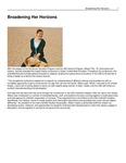 Broadening Her Horizons by USU Jon M. Huntsman School of Business