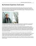 My Huntsman Experience: Scott Laneri by USU Jon M. Huntsman School of Business