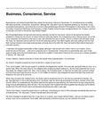 Business, Conscience, Service by USU Jon M. Huntsman School of Business