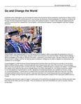Go and Change the World by USU Jon M. Huntsman School of Business