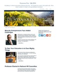 The Huntsman Post, July 2014
