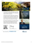 The Huntsman Post, September 2015