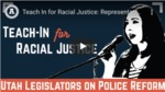 Utah Representative Angela Romero on Police Reform and Racial Justice