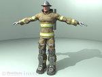 Hazard Emergency & Accident Training Firefighter
