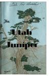 The Utah Juniper, Volume 9