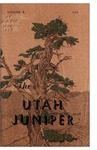 The Utah Juniper, Volume 10