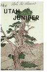 The Utah Juniper, Volume 13