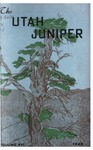The Utah Juniper, Volume 16
