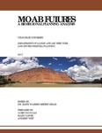 Moab Futures: A Bioregional Planning Analysis by Utah State University
