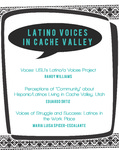 "02: Perceptions of ""community"" about Hispanic/Latinos living in Cache Valley, Utah"