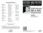 Victory and Poetry by USU Symphony Orchestra, Sergio Bernal, and Adam Nielson