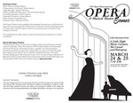 Opera & Musical Theatre Scenes by USU Opera Theatre and Dallas Heaton
