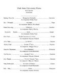 Utah State University Flutes Solo Recital