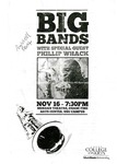 Big Bands with Special Guest Phillip Whack