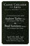 Junior Recital - Andrew Taylor & Brad Summers