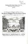 La Liberazione di Ruggiero dall'Isola d'Alcina (The Rescue of Ruggiero from the Island of Alcina) - Francesca Caccini