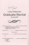 Graduate Recital - Lizzy Prettyman