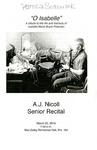 Senior Recital - A.J. Nicoll