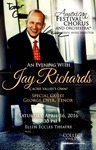 An Evening with Jay Richards Cache Valley's Own! by American Festival Chorus and Orchestra and Craig Jessop