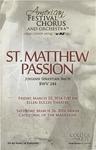 St. Matthew Passion: BWV 244, Johann Sebastian Bach
