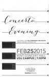 Concerto Evening