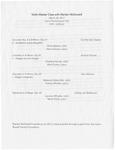 Violin Master Class with Marilyn McDonald by Olivia Abbott, Alexis Hansen, Chandra Harvey, Mark Gubler, Rebecca Ostermiller, Aubrey Moeller, Laurana Wheeler, Molly Petrik, and Marilyn McDonald