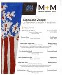Zappa and Zappa: Counterculture California in the 1960s