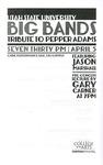 Utah State University Big Bands Tribute to Pepper Adams