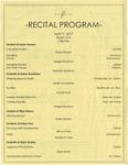 Recital Program