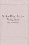 Senior Recital - Brittany Jarman