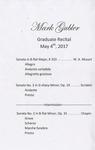 Graduate Recital - Mark Gubler