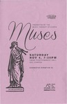Muses by Laura Corrigan, Aubrey West, Emily Wood, Tessa Buck, Amy Loertscher, Dorothy Smith, Curtis Sanderson, Gabby Magallanes, Emily Salisbury, Bethany Ramsey, Abby Dean, Taylor Niebergall, Pam Parry, Kaelie Gillespie, Miranda Palmer, Morgan Empey, Gabriela Aragon, Sophie McCotter, Aubree Hessing, Tori Smith, Janae Young, and Letha Winger