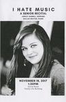 Senior Recital - Ashley Gunnell