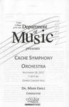 Cache Symphony Orchestra