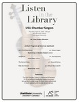 Listen in the Library: USU Chamber Singers by USU Chamber Singers and Cory Evans