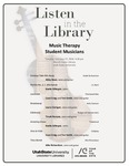 Listen in the Library: Music Therapy Student Musicians