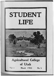 Student Life, March 1903, Vol. 1, No. 5